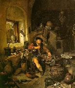 Cornelis Bega The Alchemist oil painting artist